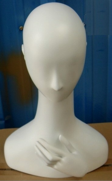Mannequin Head for Hat or Necklace Display