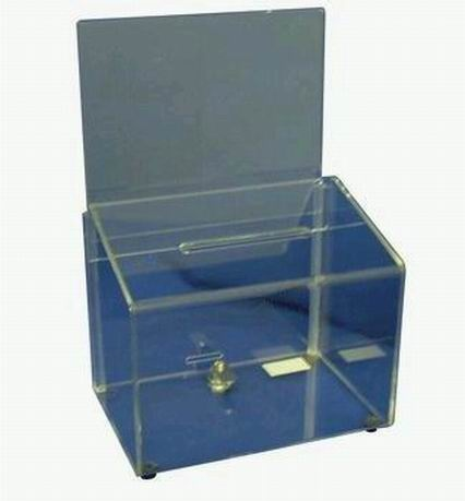 Perspex Collection Box