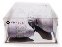 Perspex Shoe Box or Hup Box
